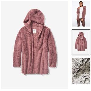 💖 Victoria Secret Sherpa Cardigan with pockets